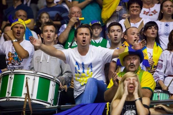 Як уболівальники підтримали збірну України