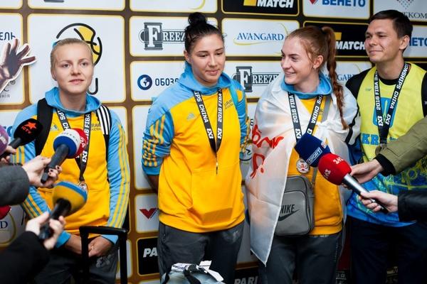 Як збірну України зустрічали після чемпіонату світу