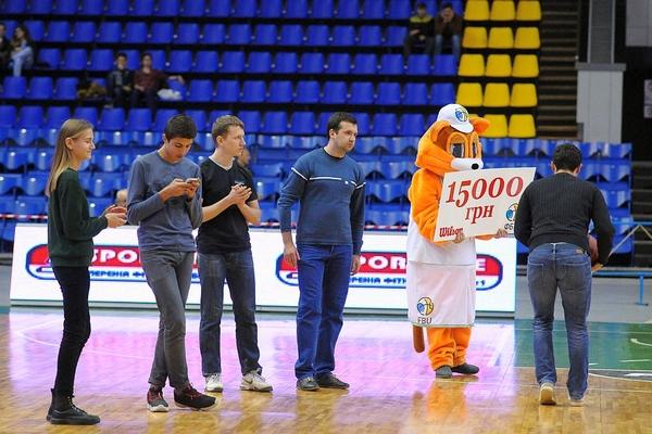 Приходь на баскетбол до Палацу спорту та вигравай 20 000 грн