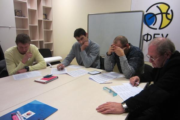 Тестування арбітрів і комісарів: спроба №2