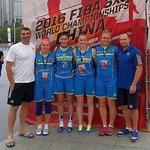 Три збірні України 3х3 зіграють на наступних чемпіонатах світу