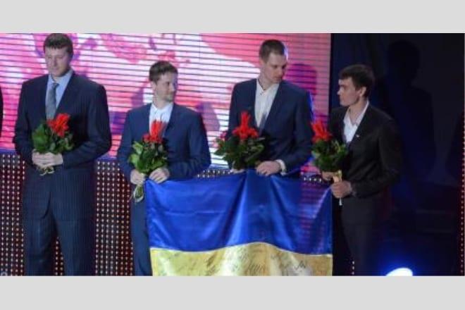Баскетбольна збірна України – найкраща команда в ігрових видах спорту 2013 року ВІДЕО