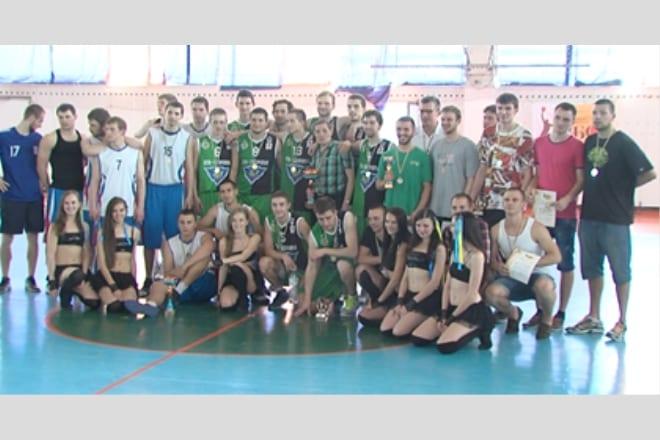 Відбувся фінал чемпіонату з баскетболу серед студентських чоловічих команд ВІДЕО