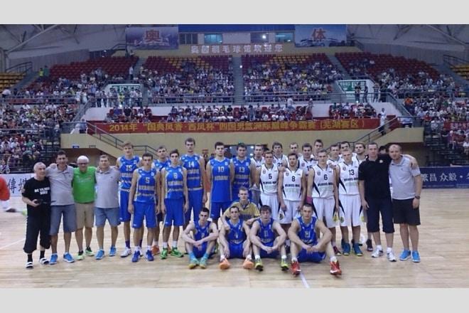Команда Віталія Чернія завершила китайське турне