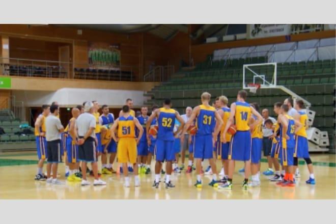 Збірна України в Южному готується до чемпіонату світу ВІДЕО
