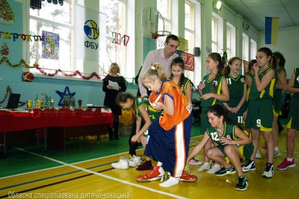 Новорічне свято баскетболу у Рівному