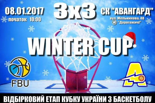 У Києві відбудеться етап WINTER BASKET BATTLE