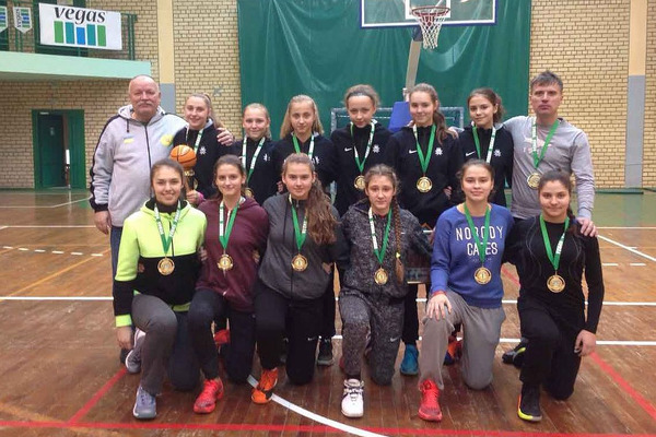 Жіноча збірна України U-16 виграла турнір у Бресті