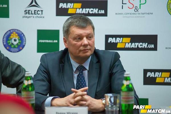 Вадим Місюра: мета Parimatch – зробити спорт ближчим до людей, а спортсменів – до вболівальників