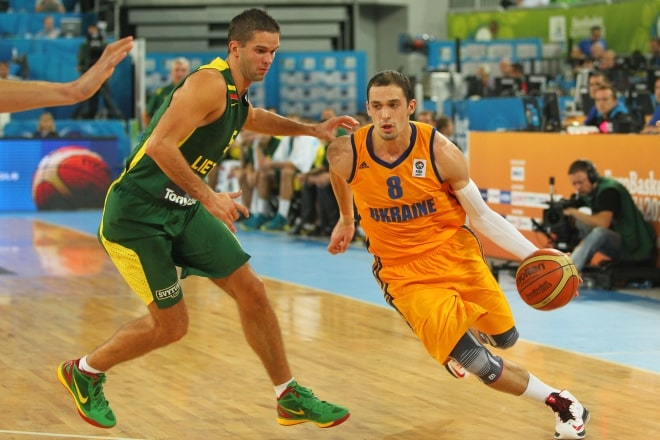 Наша збірна зіграла з командою Литви