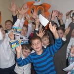 Талісман ФБУ запросив школярів на Фінал чотирьох FreezeOil Кубка України