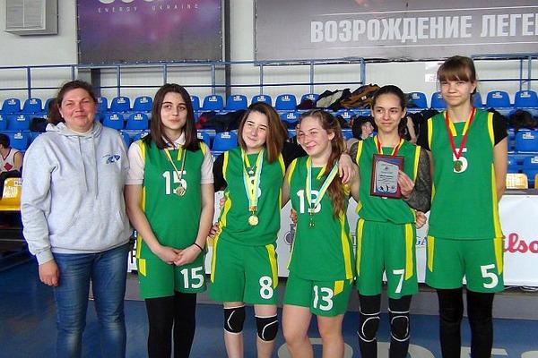 У Одесі зіграно фінал шкільної ліги області з баскетболу 3х3