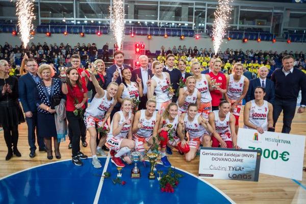 Українки Добрикова та Білоцерківська виграли перший трофей у Литві