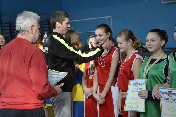 Школярі Хмельниччини визначили найсильніших з баскетболу 3х3