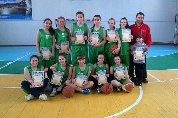 У Сумах відбувся обласний турнір юних баскетболісток