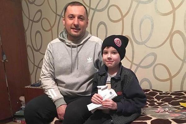 Волиньбаскет допомагає в лікуванні юного вболівальника з Київщини