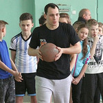 Гравці Черкаських Мавп завітали до школярів