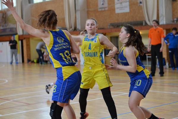 Жіноча збірна України U-16: вдалий старт на Великодньому Єврокубку