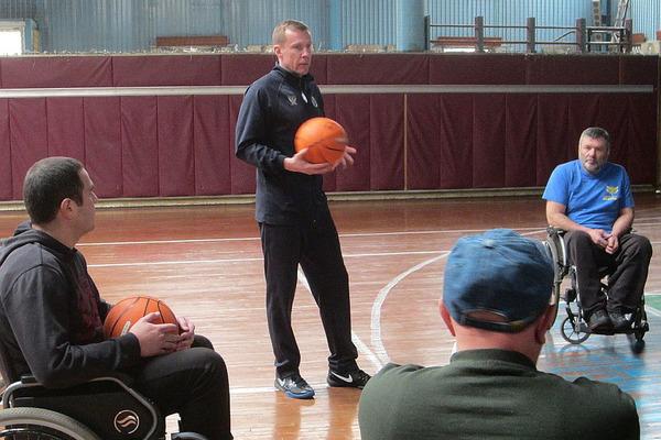 Баскетбол на візках: телерепортаж