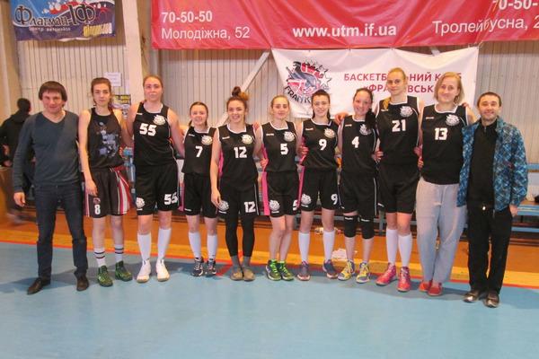 БК Франківськ - достроковий чемпіон України у Вищій лізі (жінки)
