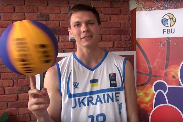 Найкращий український данкер підтримав виклик Фестивалю міні-баскетболу
