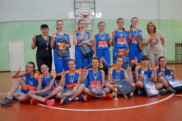 """Ірина Нагорна: """"золоте"""" прощання з мінібаскетболом"""
