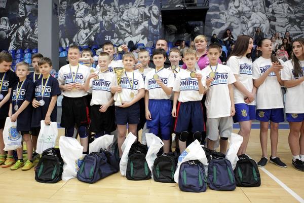 У Дніпрі зіграно фінали Шкільної баскетбольної ліги