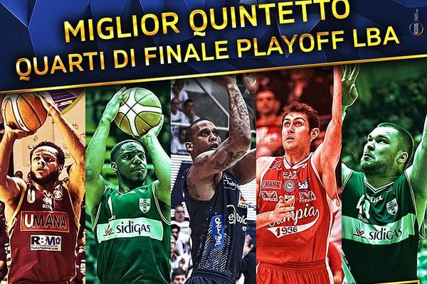 Фесенко ввійшов у символічну збірну 1/4 фіналу чемпіонату Італії