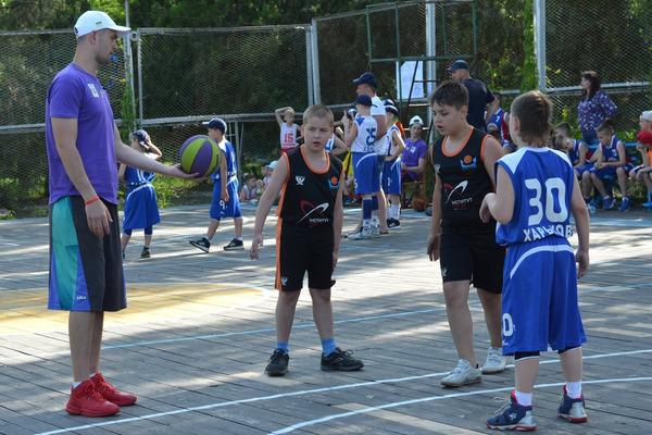 На Фестивалі міні-баскетболу відбувся турнір з баскетболу 3х3