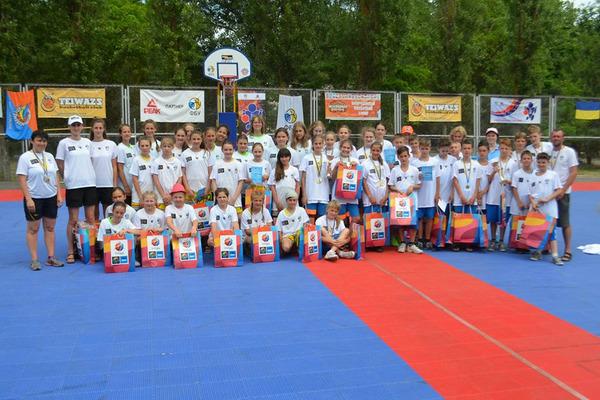 Перші призери отримали нагороди Фестивалю міні-баскетболу