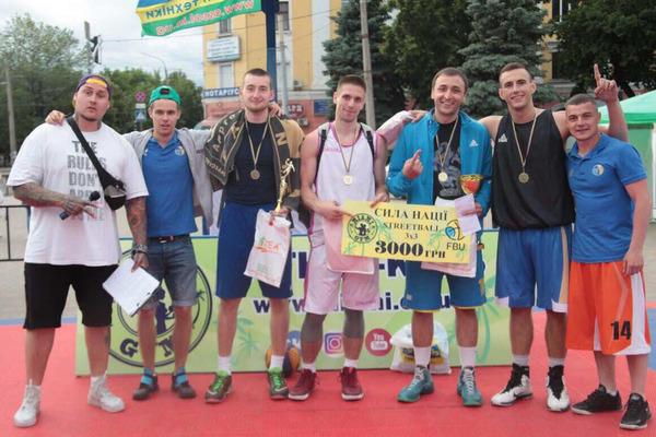В Черкасах відбулося маштабне свято баскетболу 3x3