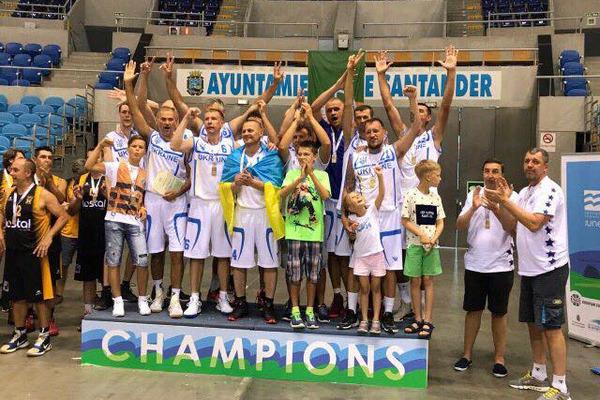 Збірна України виграла чемпіонат Європи серед ветеранів