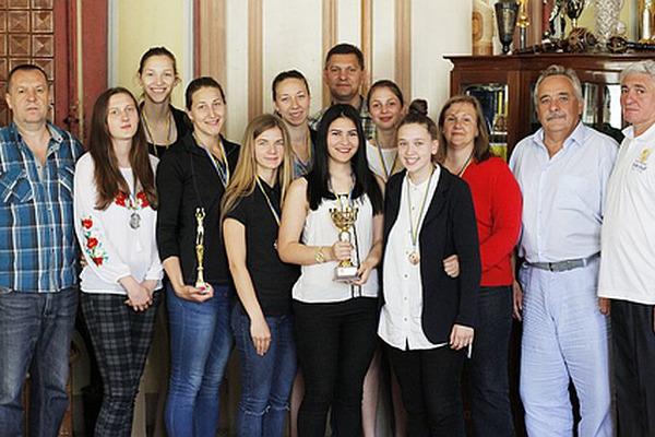 У Львові нагородили бронзових призерок СБЛУ Таскомбанк