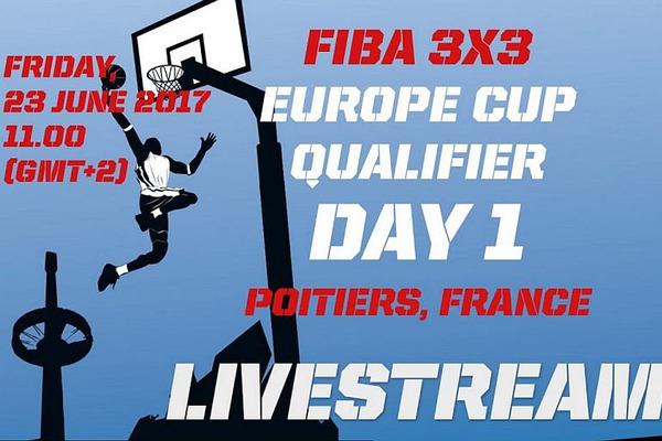 Відбір на чемпіонат Європи 3х3: онлайн відеотрансляція 23 червня