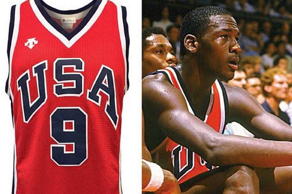 Олімпійську майку легендарного Майкла Джордана продано за рекордну суму