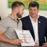 У Запоріжжі вітали чемпіонів СБЛУ Таскомбанк
