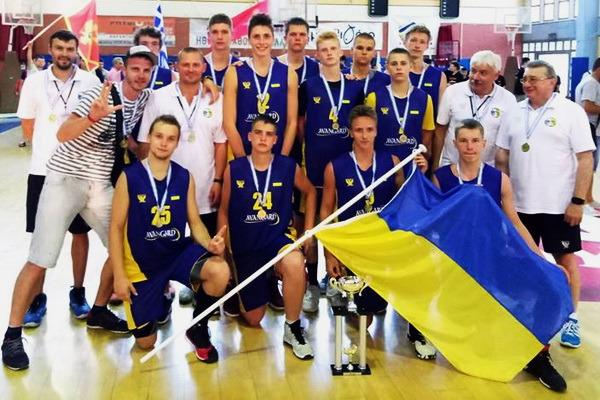 Кадетська збірна України виграла турнір у Греції