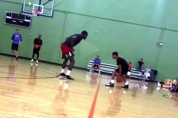 Юний гравець пошив у дурні захисника НБА