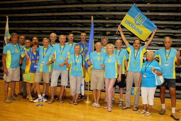 Українські ветерани змагатимуться на чемпіонаті світу вісьмома командами