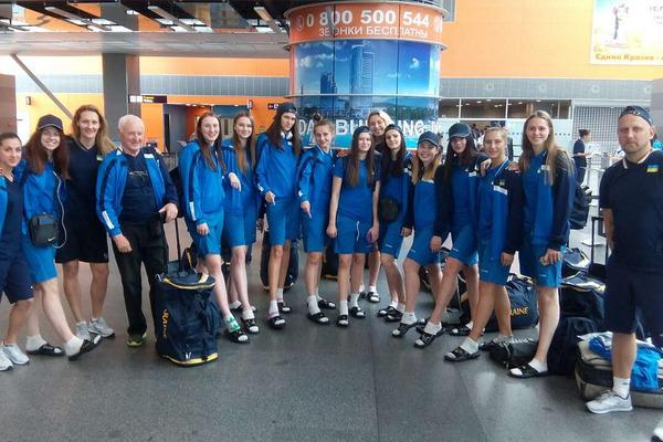 Жіноча молодіжна збірна України вирушила на Чемпіонат Європи (U-20)