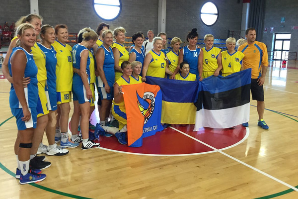 Українки - чемпіонки світу з баскетболу серед ветеранів!