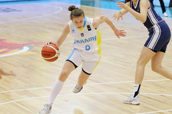 Жіноча збірна України U-20 впевнено обіграла ірландок на ЄвроБаскеті-2017
