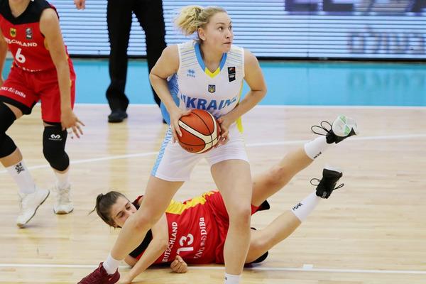 Ольга Яцковець – найефективніший гравець чемпіонату Європи U-20