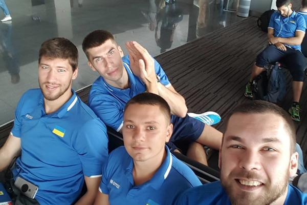 Збірна України вирушила на контрольний турнір
