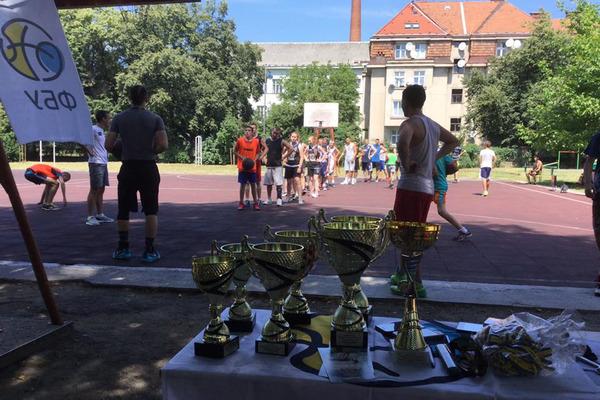 В Ужгороді відбувся етап чемпіонату України з баскетболу 3х3
