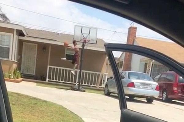 На учасника популярного баскетбольного флешмобу напав пес
