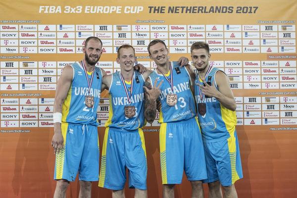 Збірні України в топ-10 світового рейтингу з баскетболу 3х3