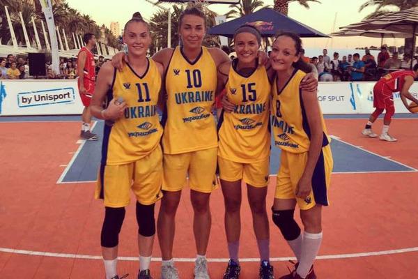 Жіноча збірна України 3х3 перемогла на європейській універсиаді