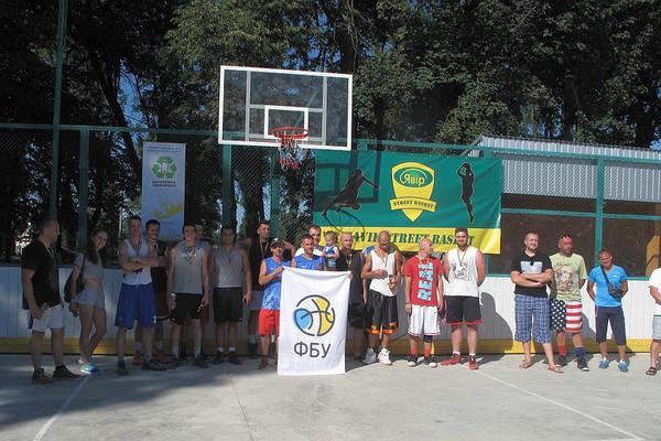 На Прикарпатті відбувся етап чемпіонату України з баскетболу 3х3