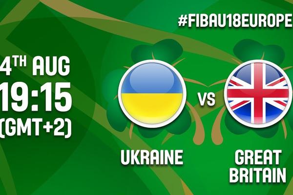 Україна – Велика Британія - 63:80: відео матчу чемпіонату Європи
